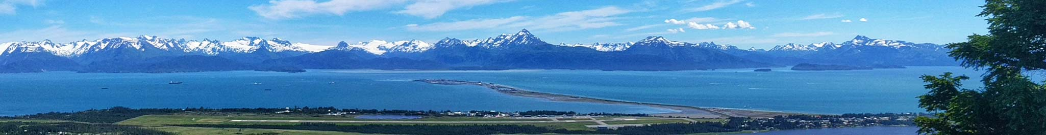 The Homer Spit in Alaska