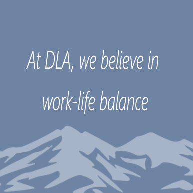 At DLA we believe in work-life balance