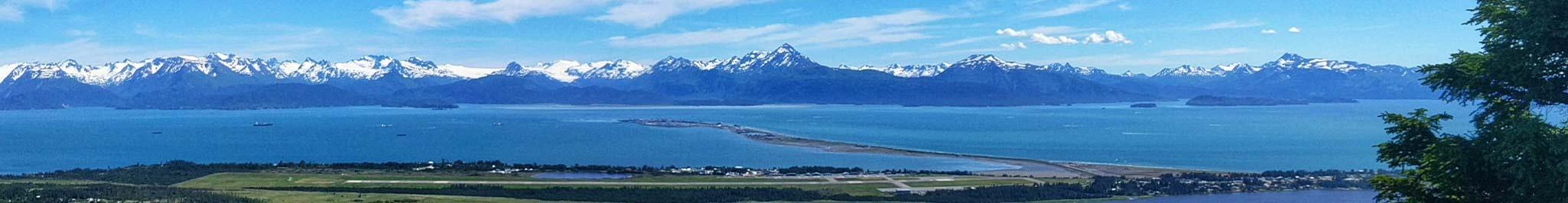 The Homer Spit in Alaska