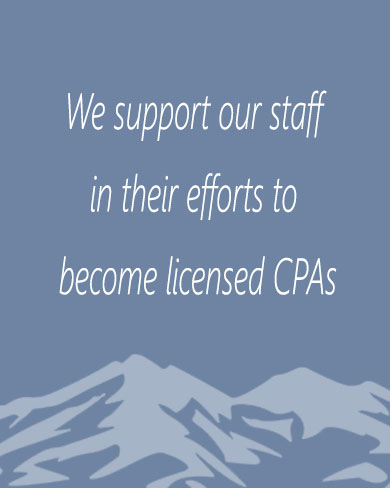We support auditors in becoming licensed CPAs